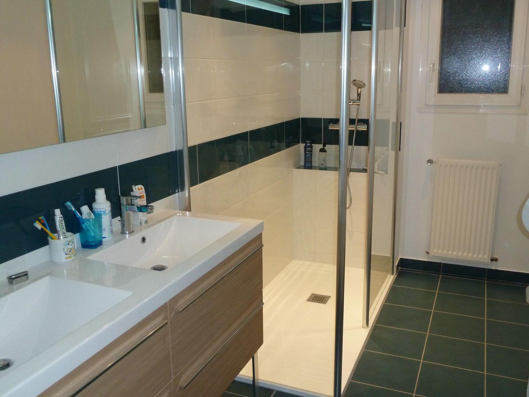 Salle De Bains Espace Public ~  r novation d une salle de bains perigny pr s de la rochelle