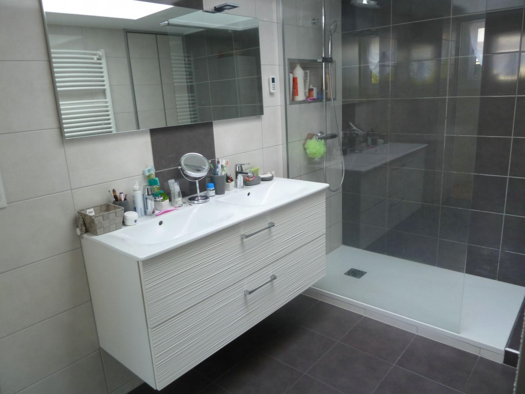 r novation d 39 une salle de bains en salle d 39 eau marsilly c t de la rochelle. Black Bedroom Furniture Sets. Home Design Ideas