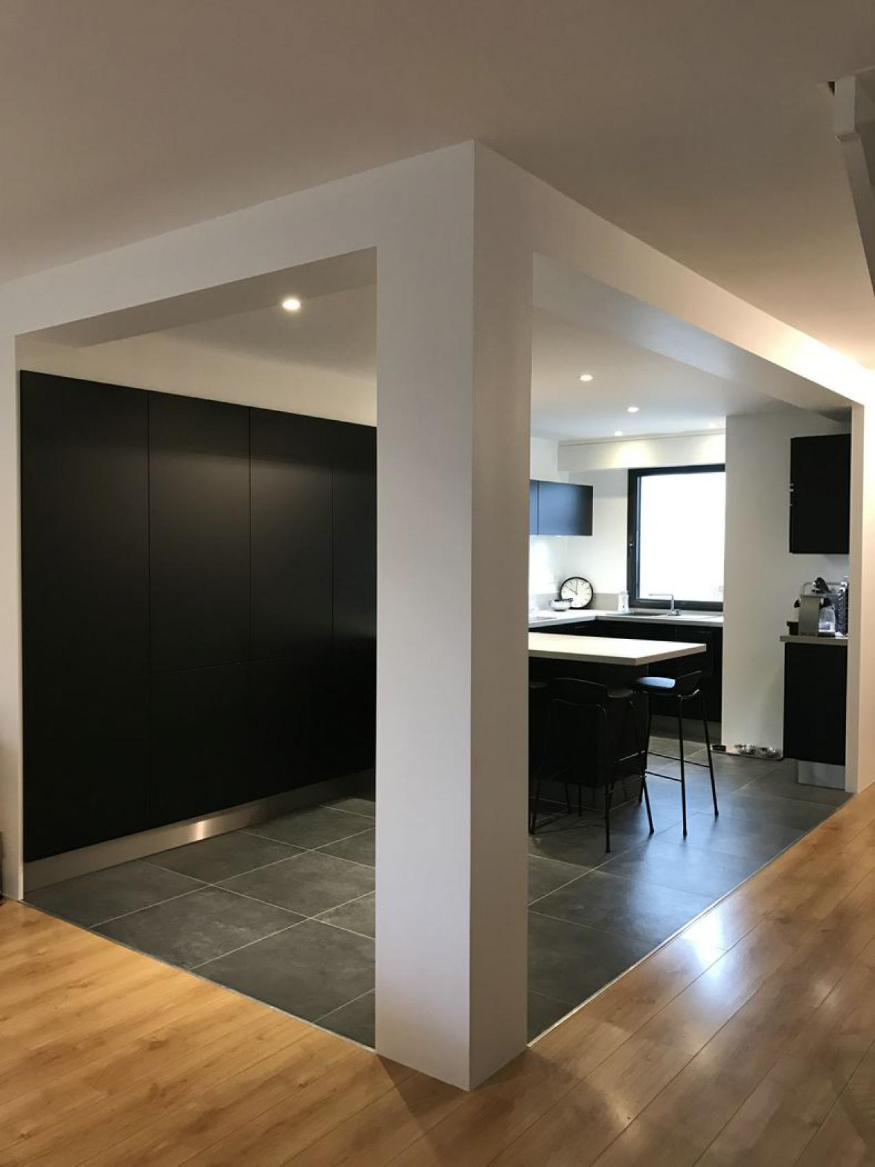 travaux de r novation d 39 une cuisine perigny proche la. Black Bedroom Furniture Sets. Home Design Ideas