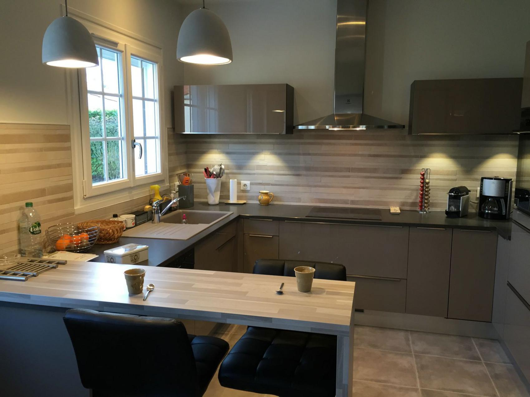 cuisine avec verri re bk71 jornalagora. Black Bedroom Furniture Sets. Home Design Ideas