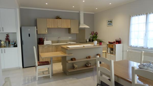 Travaux de r novation d 39 une salon s jour avec cuisine for Travaux cuisine ouverte